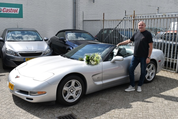 Aflevering Chevrolet Corvette