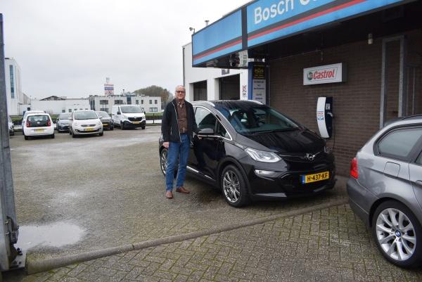 Aflevering Opel Ampera