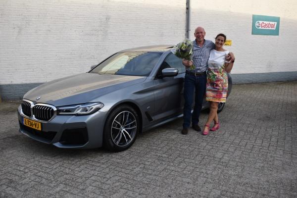 Aflevering BMW 540i XDrive-2021-08-18 09:12:11
