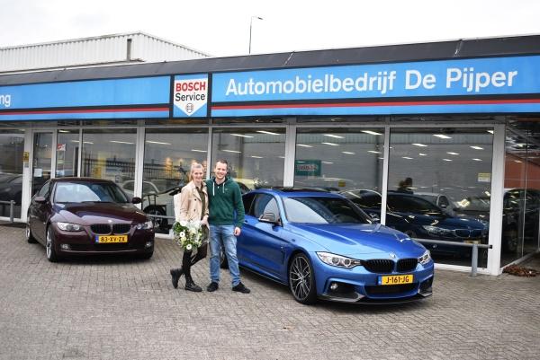 Aflevering BMW 435i M-Performance
