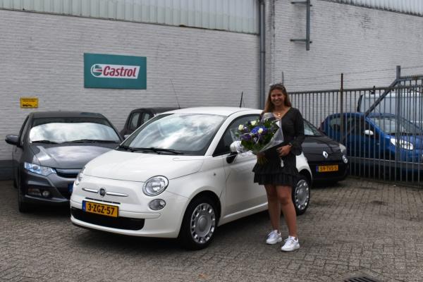 Aflevering Fiat 500-2021-07-08 08:10:07