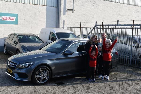 Aflevering Mercedes-Benz C250 Estate-2021-10-08 13:20:21