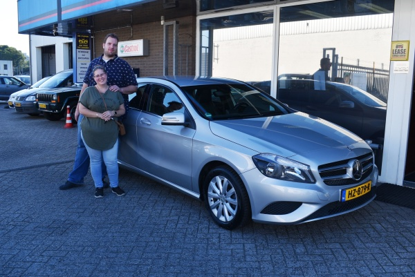 Aflevering Mercedes-Benz A180