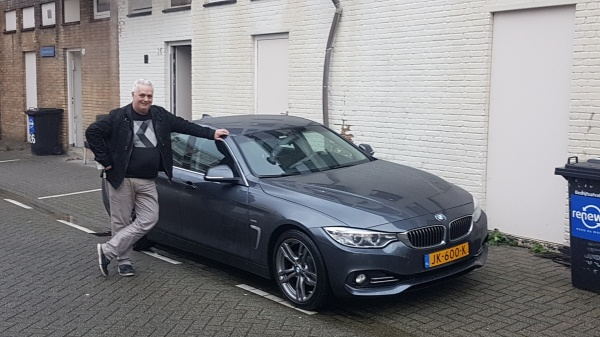 Aflevering BMW 420i