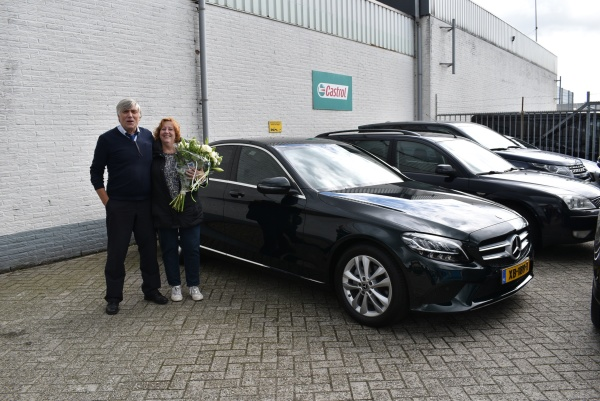 Aflevering Mercedes-Benz C160