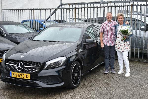 Aflevering Mercedes-Benz A180 automaat-2019-08-10 09:38:59