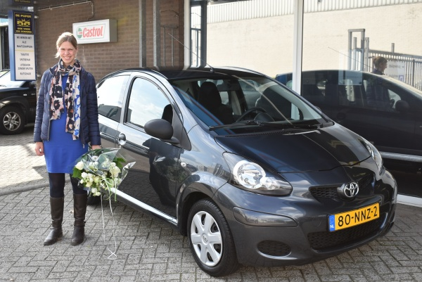 Aflevering Toyota Aygo