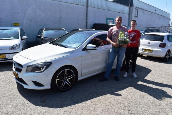 Aflevering Mercedes-Benz CLA