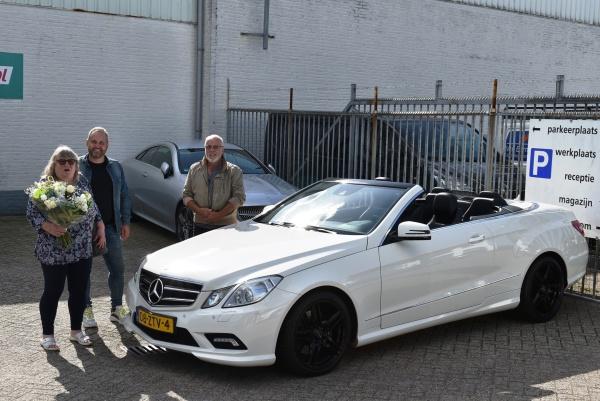 Aflevering Mercedes-Benz E200 Cabriolet