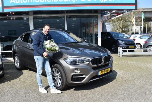 Aflevering BMW X6 3.0D