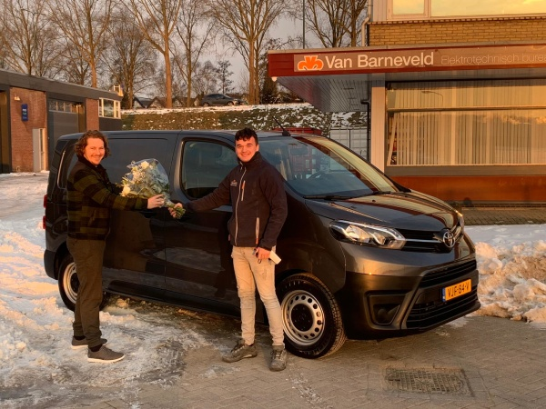 Aflevering Toyota Proace