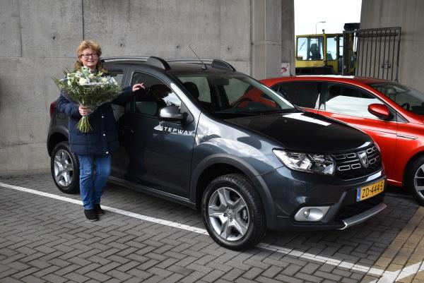 Aflevering Dacia Sandero