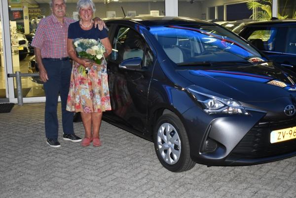 Aflevering Toyota Yaris
