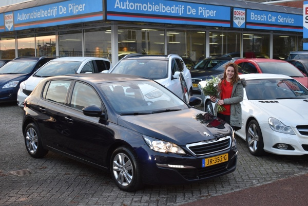 Aflevering Peugeot 308