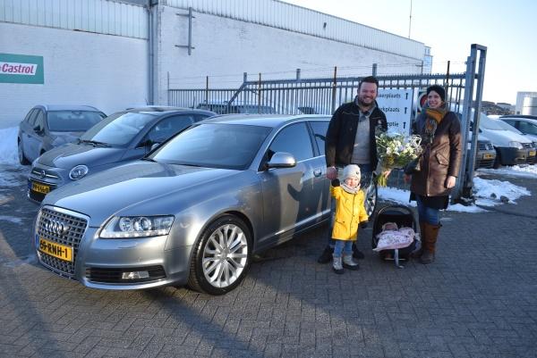 Aflevering Audi A6 Avant